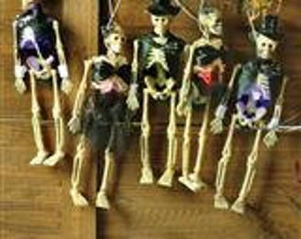 Halloween String Lights Party Decor - Skeletons