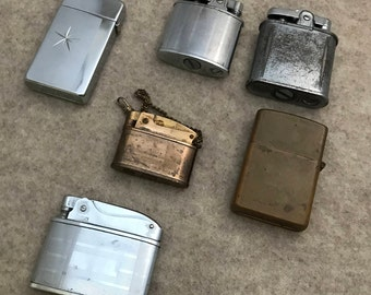 Vintage Lighter, Lighter, Lighter Collection, Lighter Part, Lighter Lot, Ronson, Scripto, Rogers Lighter, Penquin Lighter, Pocket Lighter