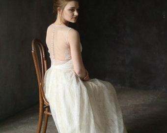 Sheath wedding dress | Etsy