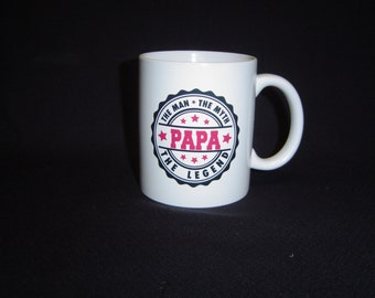 Grandpa mug, Daddy mug, Papa mug, Uncle mug, Custom mug