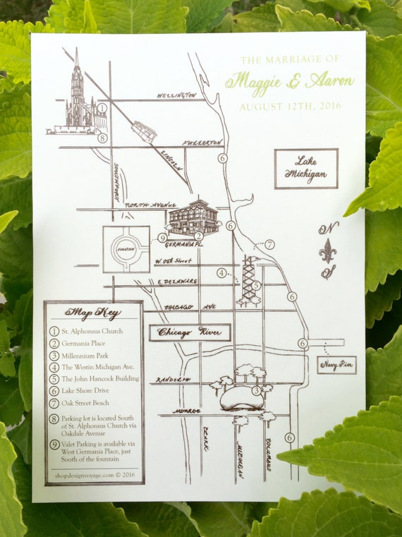 THE Rustic Map Reservation | Custom Wedding Map. Hand Drawn Wedding Map. Personalized Map with Illustrations | Custom Map Invitation