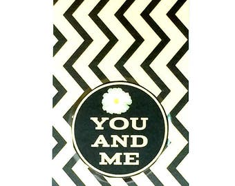 You and Me Friendship Bookmark