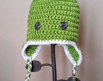 Frog Baby Hat // 3-6 Month
