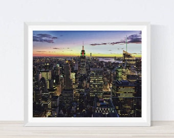 Empire State Building, New York Skyline, Manhattan Fine Art, City Skyline, New York Poster, Empire State Print, Empire State Photography,