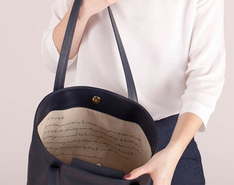 Leather anniversary for her Wedding anniversary gift Personalized anniversary gift Wife birthday gift Romantic gift for her Leather tote bag
