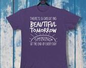 There's a Great Big Beautiful Tomorrow | Unisex Crew Tee | Disney-Inspired | Carousel of Progress