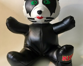 KISS 3 Bear - Handmade plush - Inspired by the Kiss group