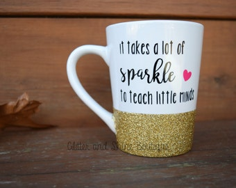 Teach little minds, Preschool Teacher Coffee Mug, Gift for Teacher, Teacher Mug, Teacher Coffee Mug, Teacher Gifts, Preschool Teacher Gift