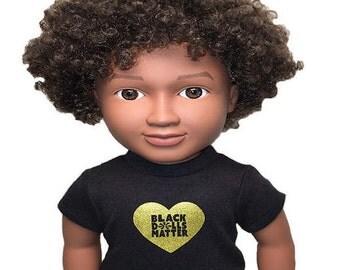 18″ doll Heart T-shirt