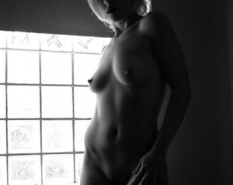 Window Light - an original black and white photograph