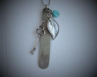 Vintage Spoon Necklace #821