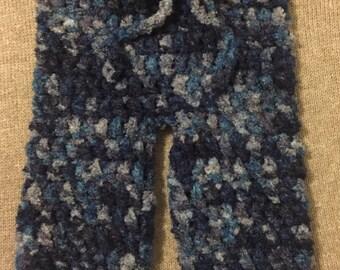 Crochet Baby Pants - (newborn--12 months)