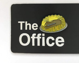 PRE ORDER Dwight's Stapler in Jello Enamel Pin (The Office, TV Show)