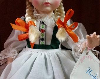 Heidi 1580 Madame Alexander 14 inch Doll - New in Box!