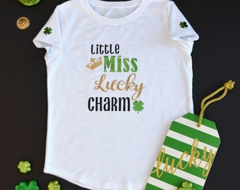 Miss Lucky Charm St. Patrick's Day Shirt