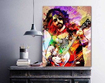 Dave Grohl, Foo Fighters, Dave Grohl Art, Dave Grohl Print, Foo Fighters Art, Foo Fighters Poster, Grohl, Guitar Player, Guitar Legend, Pop