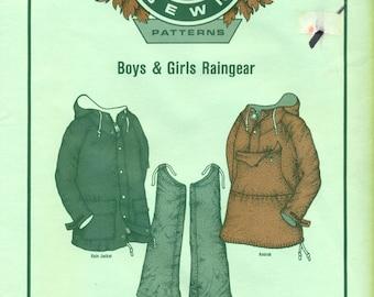 RAINGEAR Boys & Girls  Mountain Sewn REI #CA46-590