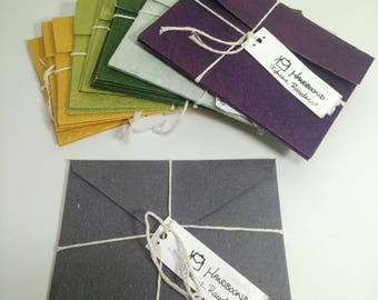 Set of 2 Handmade Envelopes | custom orders available