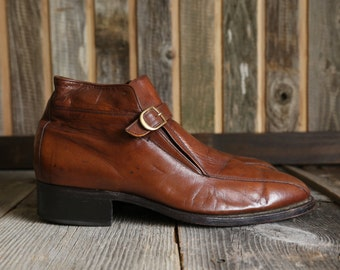 SALE Florsheim Shoes . Ankle High Beetle Boot in Brown