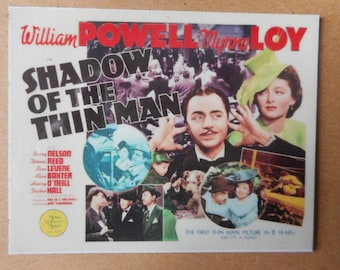 Magnet- Shadow of the Thin Man movie  William Powell Myrna Loy  Nick and Nora Charles Barry Nelson Donna Reed