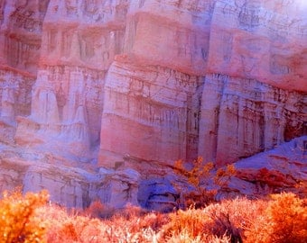 Evening Shades in Red Rock by Catherine Roché, California Landscape Photography, Sunset Photography, Red Rock Photography, Fine Art