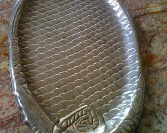 Hotel Silver Plated Fish Platter/ Serving Tray