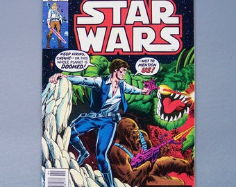 Vintage 1978 Star Wars Number 10 Very Good Condition Marvel Comics Group