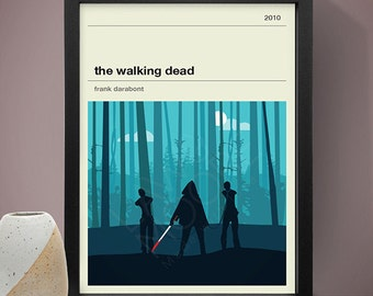 The Walking Dead Michonne Poster, TV Print, Print, Poster