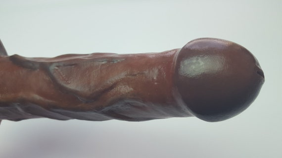 BJ Dildo #1019-Hand Painted Silicone-Mature-Adult-Sex Toy-Designed to Suck