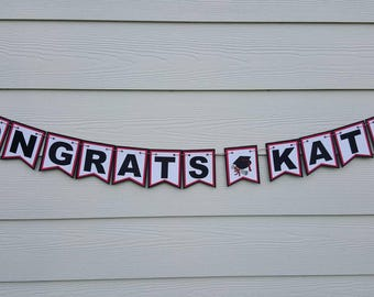 Congrats Grad Banner... 2017... Graduation... Senior...