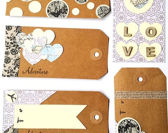 Travel Inspired Gift Tags