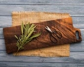 Walnut Serving Board, Personalized Gift, Custom Breadboard, Cheese Board, Kitchen and Gourmet