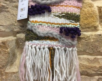 Woven wall hanging - small-