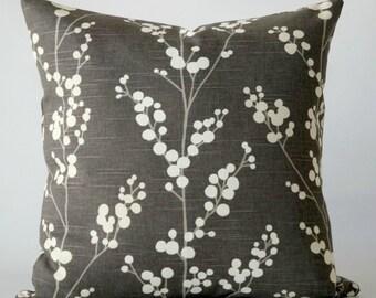gray 20x20 pillow cover, gray pillow cover, gray pillow, gray white pillow cover, decorative pillow, throw pillows, cushion