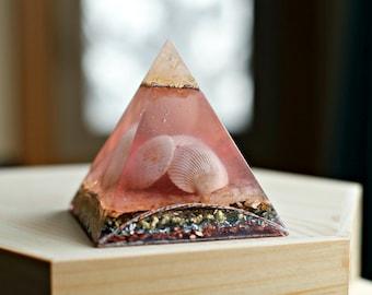 Orgone Pyramid- Ocean Treasure