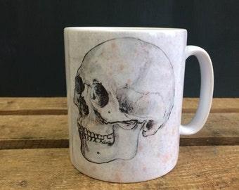 Skull Mug - Vintage Design - Horror Anatomy