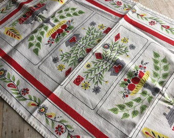 Darling Mid Century Tea Towel - Nice Colors