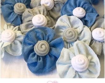 Washcloth Flowers