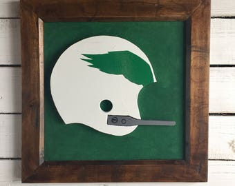 "Philadelphia Eagles ""Vintage"" Helmet Plaque"