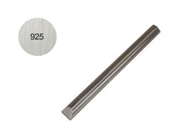 925 - 1 MM Straight Steel Stamp Sterling Silver Purity Metal Marking Jewelry Stamping Tool - PUN-127.00