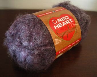Red Heart Symphony Yarn – Color 4903 Mystic Purple - Worsted Medium – Brushed Acrylic - Lot # K218
