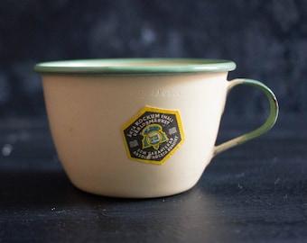 Vintage Enamel Tea Cup
