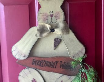 Wooden Easter Bunny