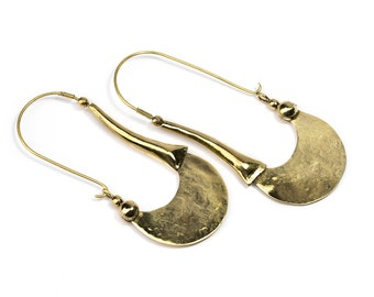 Tribal Hook Earrings Tribal Earrings Boho Gypsy Jewellery Belly Dance Jewellery Free UK Delivery Gift Boxed BG11