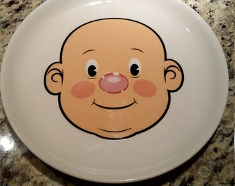 Wooly Willy Food Face plate