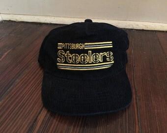 Vintage Pittsburg Steelers Hat/Steelers Snap Back Hat