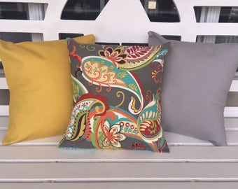 Paisley 16 x 16 Pillow Cover