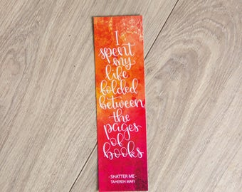 Folded Between The Pages of Books Bookmark