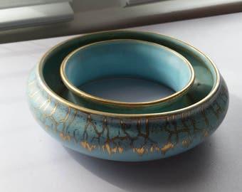 Porcelain Flower Ring