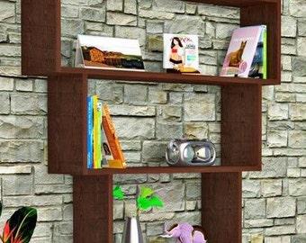bibliotheque moderne etsy. Black Bedroom Furniture Sets. Home Design Ideas